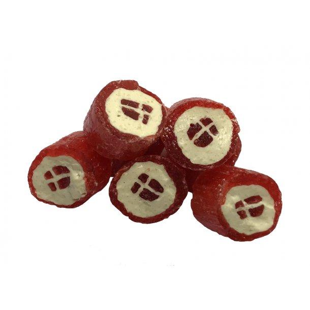 Dansk Flag m. jordbærsmag