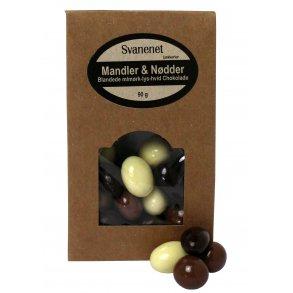 Chokolademandler<br />og -nødder