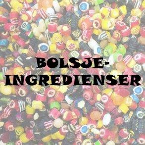 Bolsje-ingredienser