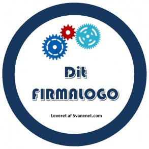 Reklameslik - slik med logo