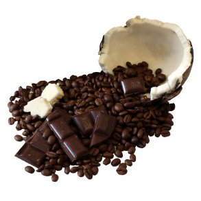 Kaffebønner med smag