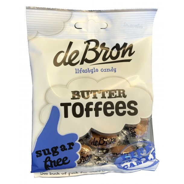 De Bron Sukkerfri Butter Toffees