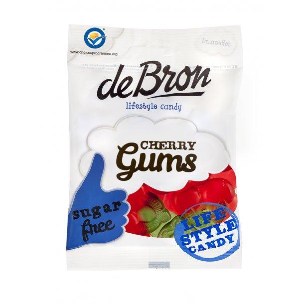 De Bron Sukkerfri Cherry Gums