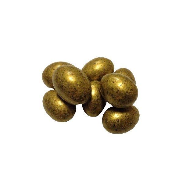 Guld Mandler m. mørk chokolade og havsalt