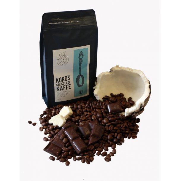 Kokos Chokolade kaffe