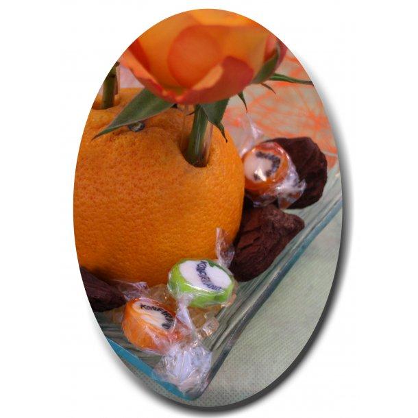 Konfirmand Bolsjer Orange
